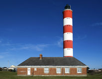 Phare. Sur Mer.France de Berck Images libres de droits