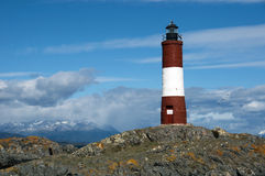 Phare Ushuaia - Argentine Photo libre de droits