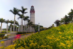 Phare wuyuan de baie de Xiamen Images libres de droits