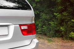 Phares de voiture Phares de luxe photographie stock libre de droits