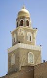 Phares et portes de la mosquée de Koufa Image libre de droits