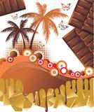 Pharidise del chocolate Foto de archivo libre de regalías