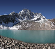 pharilapche taboche tsho peak Obrazy Royalty Free