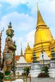 Pharkaew de Wat de Tailandia Foto de archivo libre de regalías
