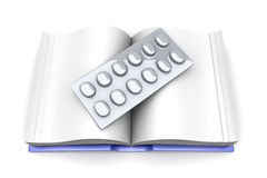 Pharma Book Stock Photo