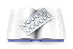 Pharma Book Stock Photo