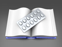 Pharma Book Royalty Free Stock Photo