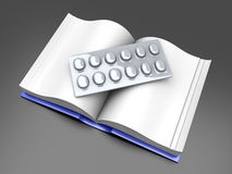 Pharma Book Royalty Free Stock Images