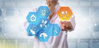 Pharma naukowa inicjowania zakupy fura Zdjęcie Stock