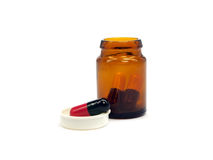 Pharmaceutical capsules Stock Photography
