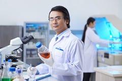 Pharmaceutical chemist Royalty Free Stock Image