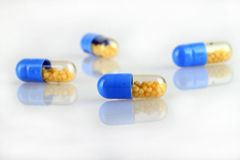 Pharmaceutical drug capsules Stock Image