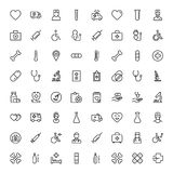 Pharmaceutical flat icon. Pharmaceutical icon set. Collection of high quality black outline logo for web site design and mobile apps. Vector illustration on a Stock Image
