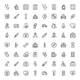 Pharmaceutical flat icon. Pharmaceutical icon set. Collection of high quality black outline logo for web site design and mobile apps. Vector illustration on a Royalty Free Stock Photography