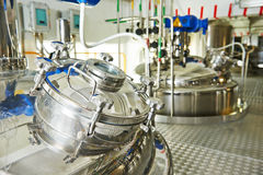 Pharmaceutical industry Royalty Free Stock Images
