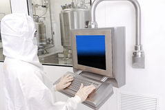Pharmaceutical industry royalty free stock image