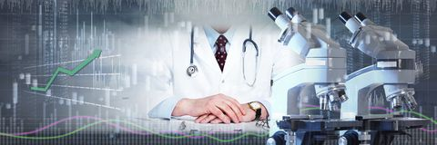 Pharmaceutical laboratory research Royalty Free Stock Photos