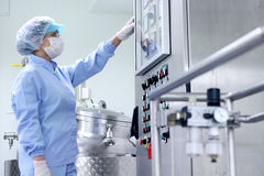 Pharmaceutical Manufacturing Royalty Free Stock Image