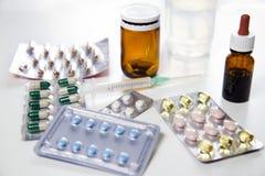 Pharmaceutical medicament Stock Photo