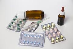 Pharmaceutical medicament Royalty Free Stock Photos
