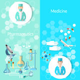 Pharmaceutical and medicine Stock Photo