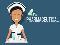 Pharmaceutical stock illustration