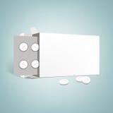 Pharmaceutical packaging Royalty Free Stock Image