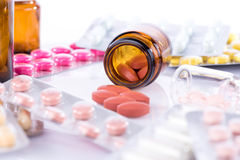 Pharmaceutical pills Stock Image