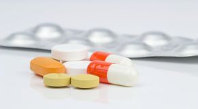 Pharmaceutical Pills and Tablets Royalty Free Stock Images