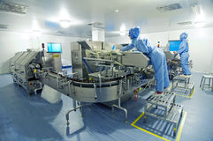 Pharmaceutical Plant Stock Image