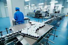 Pharmaceutical plant Royalty Free Stock Photo