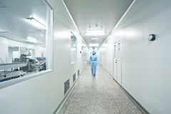 Pharmaceutical production plant Stock Photography
