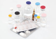 Pharmaceutical products Stock Images
