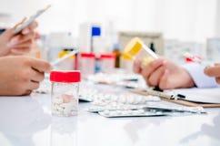 Pharmaceutical store Stock Photos