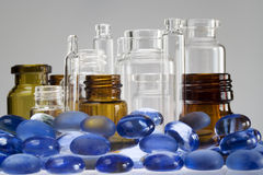 Pharmaceutical vials II Royalty Free Stock Photo