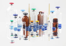 Pharmaceutical vials Stock Images