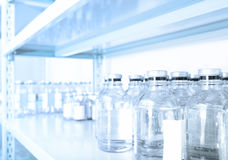 Pharmaceutical warehouse. Royalty Free Stock Photo