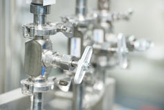 Pharmaceutical water preparation system Royalty Free Stock Image
