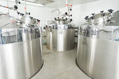 Pharmaceutical water treatment system Stock Image