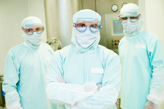 Pharmaceutical workers team Stock Photography