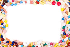 Pharmaceuticals background Royalty Free Stock Photography