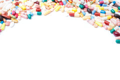 Pharmaceuticals background texture Stock Photography