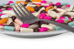 Pharmaceuticals like piece de r�sistance Stock Image
