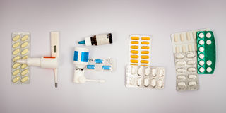 Pharmaceutics help Stock Images