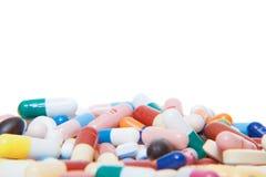 Pharmaceutiques d'isolement photographie stock libre de droits