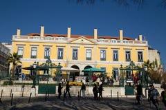 Pharmacia restauracja w Lisbon Zdjęcia Royalty Free