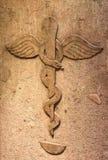 Pharmacie antique image libre de droits