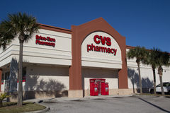 Pharmacie de CVS Image stock