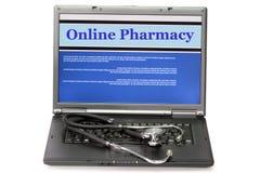 Pharmacie en ligne images stock
