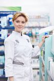 Pharmacien Images stock